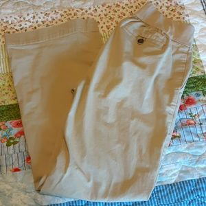 Gap Maternity khaki pants